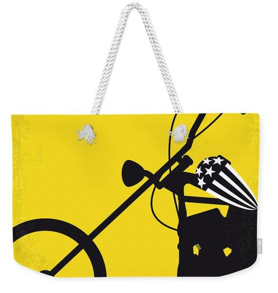 No333 My Easy Rider Minimal Movie Poster Weekender Tote Bag