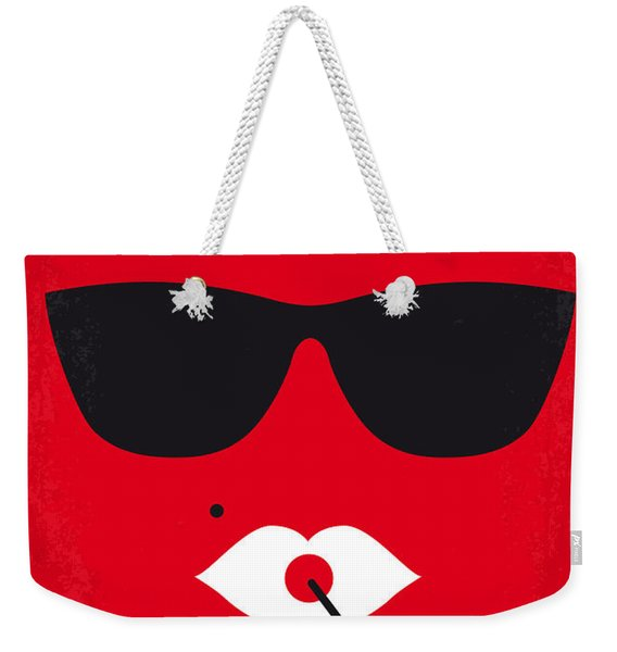No336 My Desperately Seeking Susan Minimal Movie Poster Weekender Tote Bag