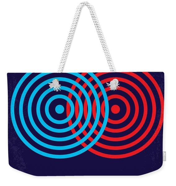 No357 My Tron Minimal Movie Poster Weekender Tote Bag
