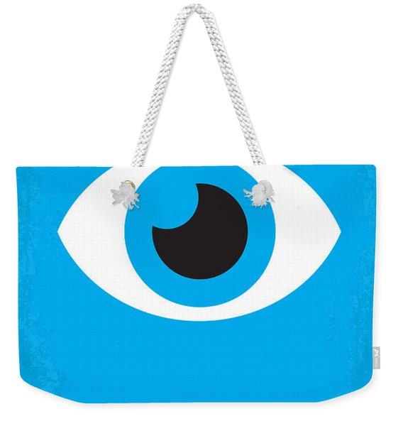 No362 My Zoolander Minimal Movie Poster Weekender Tote Bag