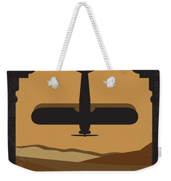 No361 My The English Patient Minimal Movie Poster Weekender Tote Bag