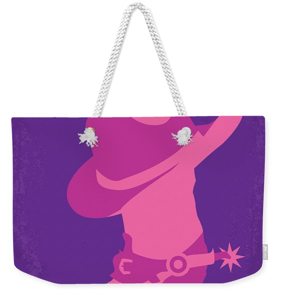 No369 My Brokeback Mountain Minimal Movie Poster Weekender Tote Bag