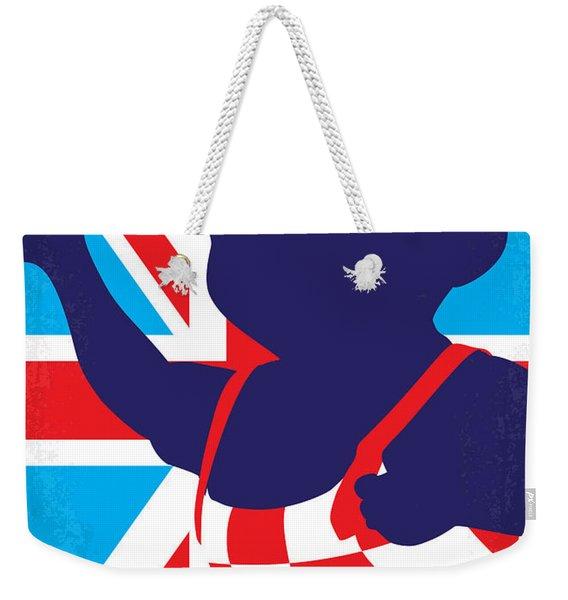 No373 My Austin Powers I Minimal Movie Poster Weekender Tote Bag
