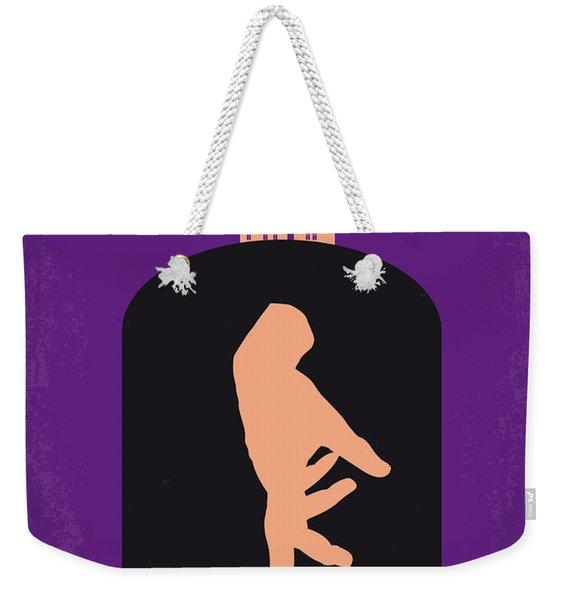 No423 My The Addams Family Minimal Movie Poster Weekender Tote Bag