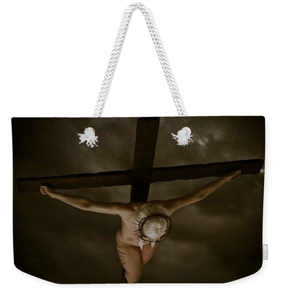 Nordic Crucifix Weekender Tote Bag