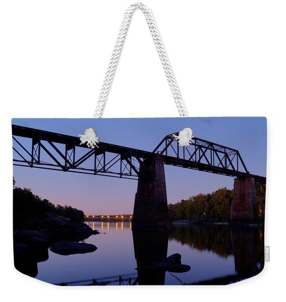 Twilight Crossing Weekender Tote Bag