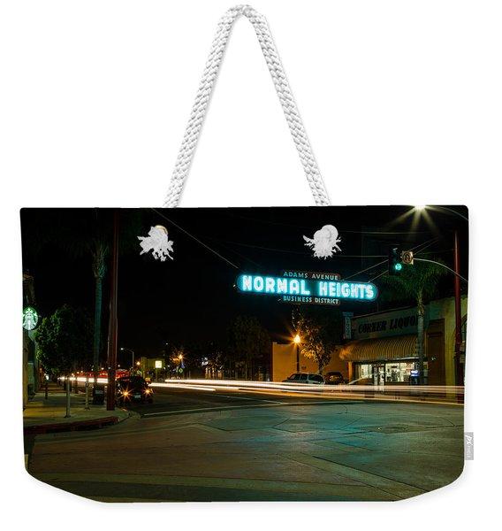 Normal Heights Neon Weekender Tote Bag
