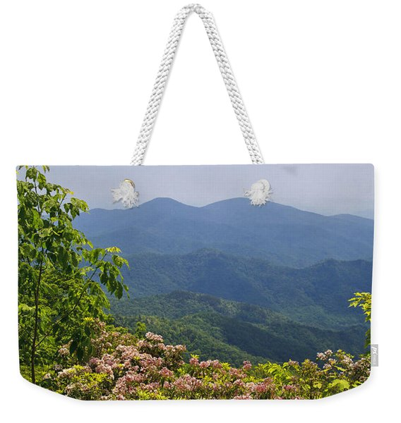 North Carolina Mountains Weekender Tote Bag