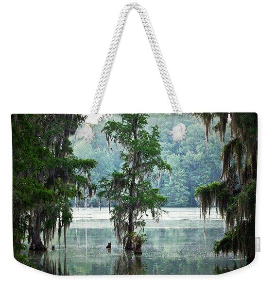 North Florida Cypress Swamp Weekender Tote Bag