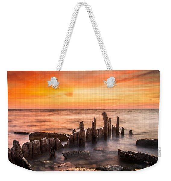 North Point Sky Weekender Tote Bag