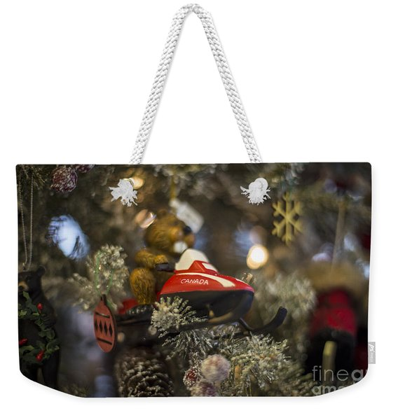 North Pole Express Weekender Tote Bag