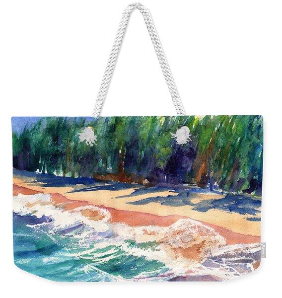 North Shore Beach 2 Weekender Tote Bag