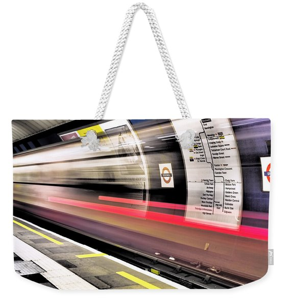 Northbound Underground Weekender Tote Bag