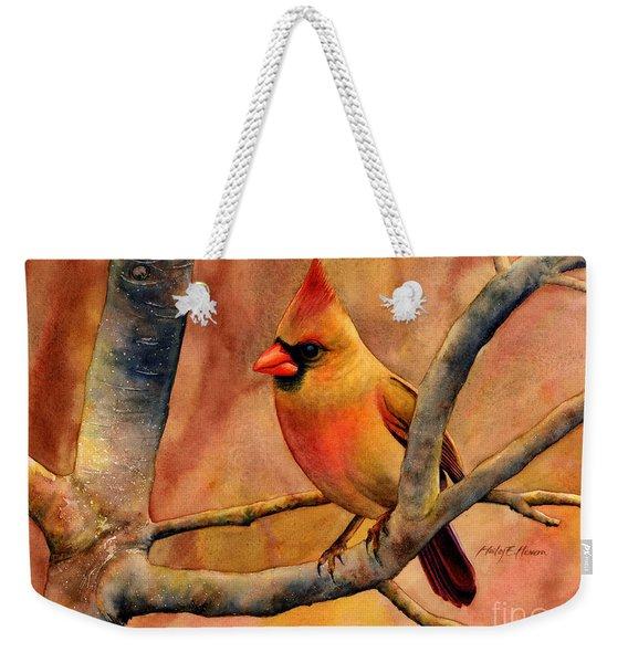 Northern Cardinal II Weekender Tote Bag