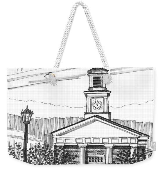 Norwich University White Chapel Weekender Tote Bag