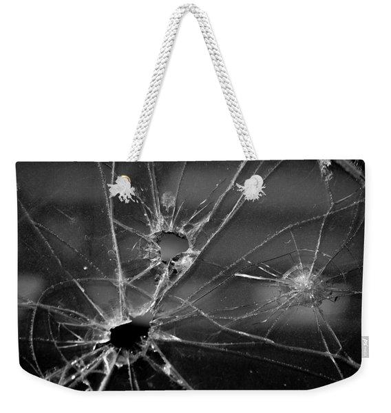 Not A Bullet-proof Weekender Tote Bag