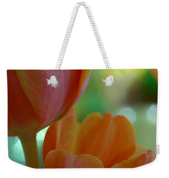 Nothing As Sweet As Your Tulips Weekender Tote Bag