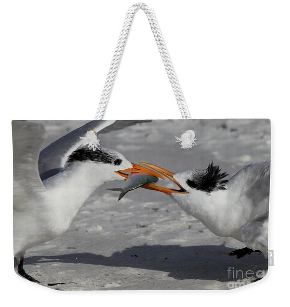 Nothing Says I Love You Like A Fish Weekender Tote Bag