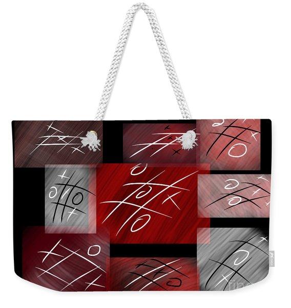 Noughts And Crosses Weekender Tote Bag