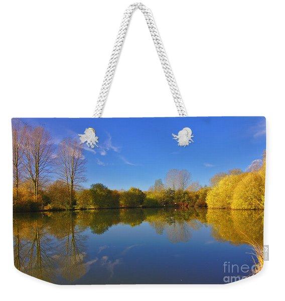 November Lake 1 Weekender Tote Bag