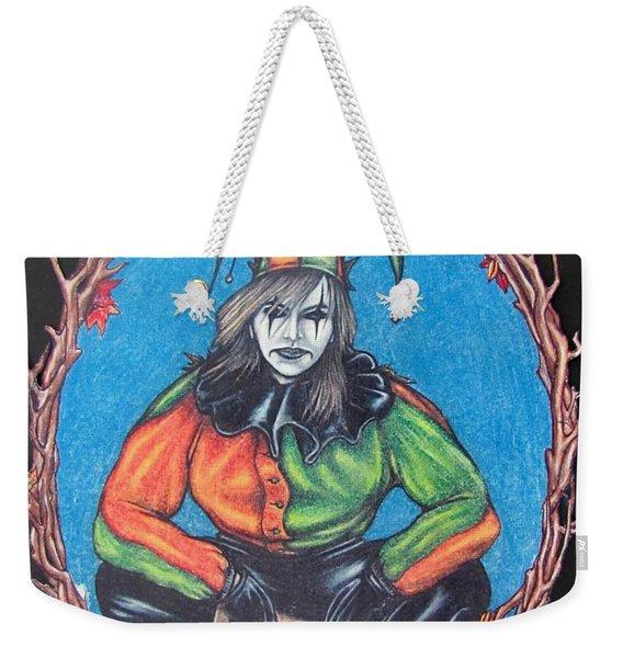 November Snow Weekender Tote Bag
