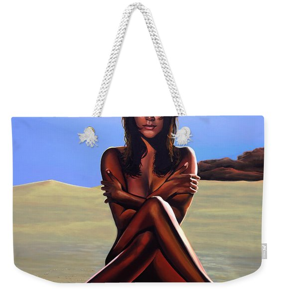 Nude Beach Beauty Weekender Tote Bag