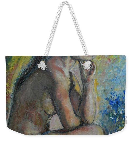Nude Eva 2 Weekender Tote Bag