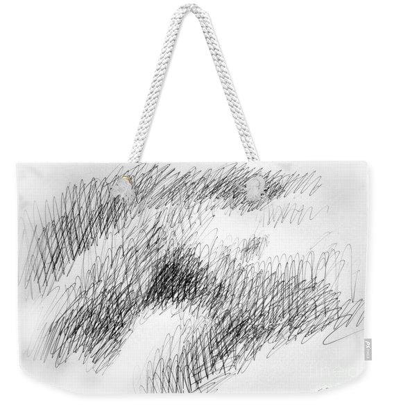 Nude Female Abstract Drawings 1 Weekender Tote Bag