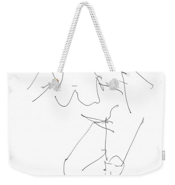 Nude Female Drawings 14 Weekender Tote Bag