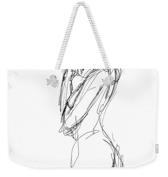 Nude Female Sketches 1 Weekender Tote Bag