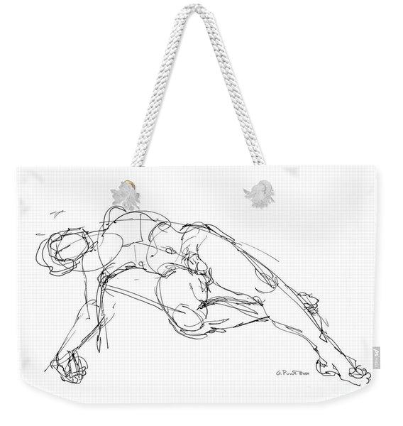 Nude Male Drawings 1 Weekender Tote Bag