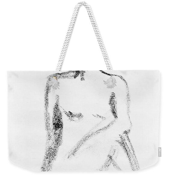 Nude Model Gesture Vi Weekender Tote Bag