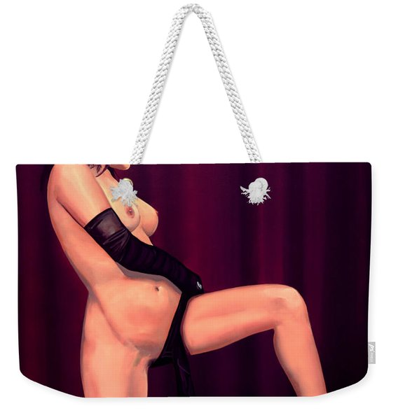 Nude Stage Beauty Weekender Tote Bag