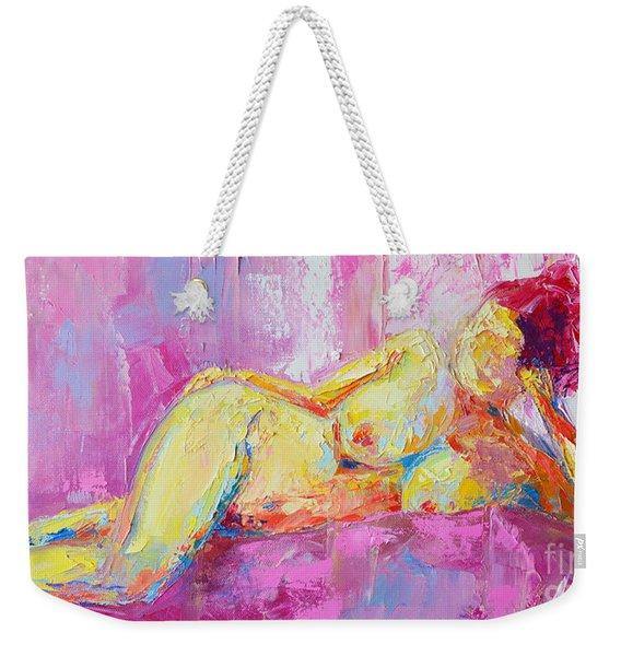 Nude Woman Figure No. 6 Weekender Tote Bag
