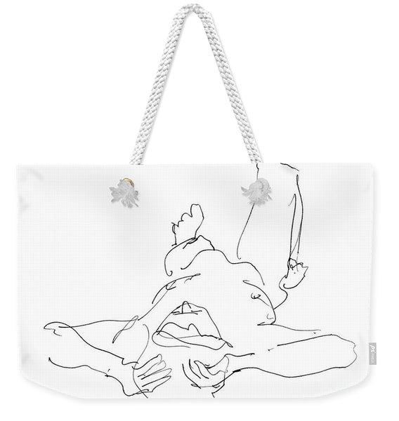 Nude_male_drawings-22 Weekender Tote Bag