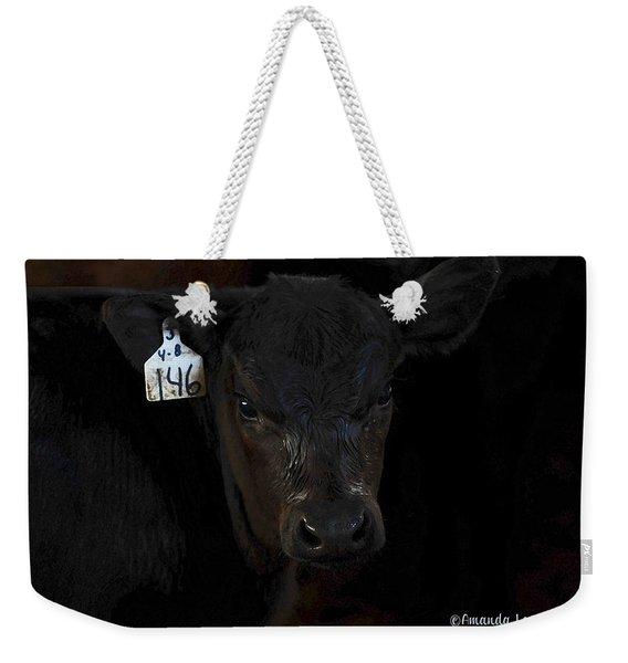 Number 146 Weekender Tote Bag