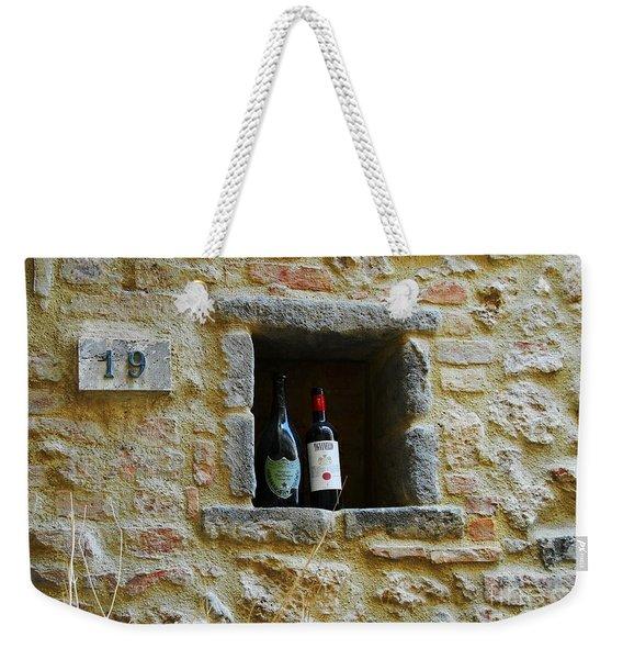 Number 19 Weekender Tote Bag