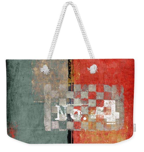 Number 4 Weekender Tote Bag