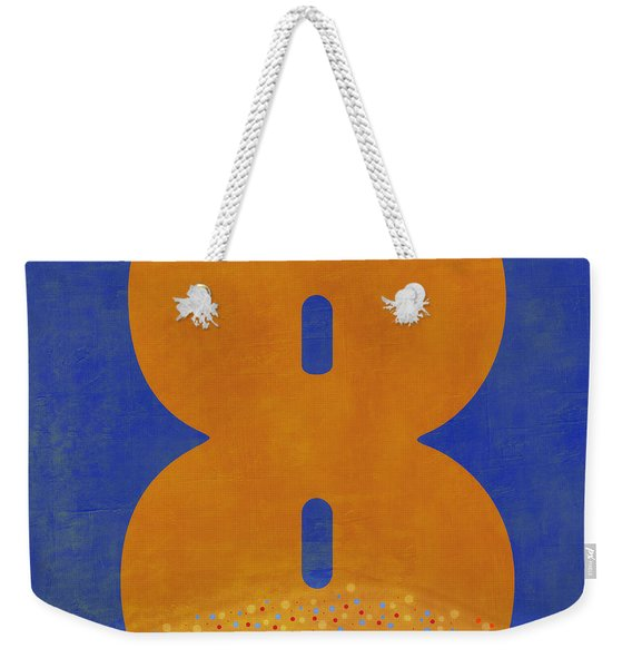 Number Eight Flotation Device Weekender Tote Bag