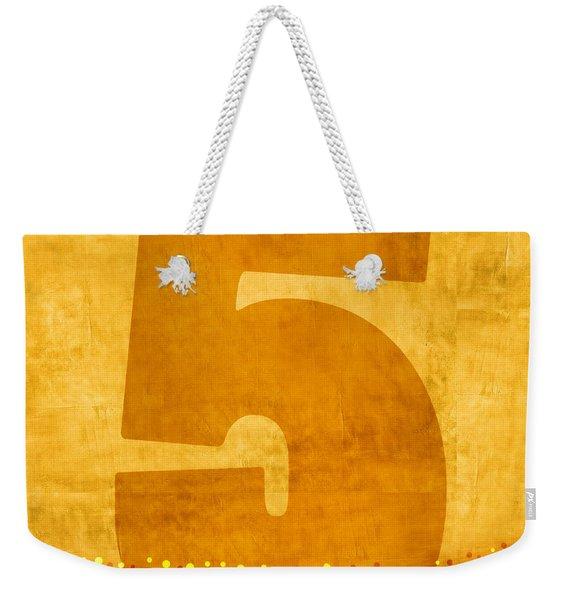Number Five Flotation Device Weekender Tote Bag