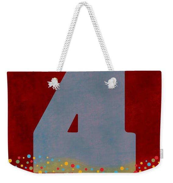 Number Four Flotation Device Weekender Tote Bag