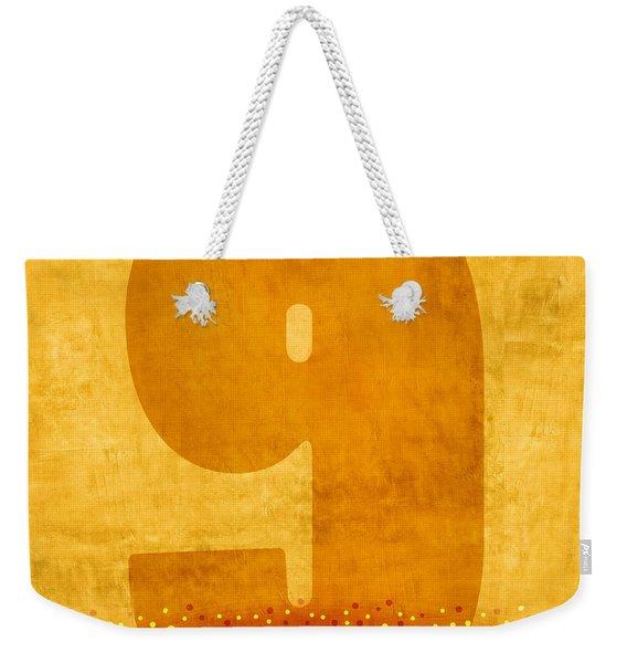 Number Nine Flotation Device Weekender Tote Bag
