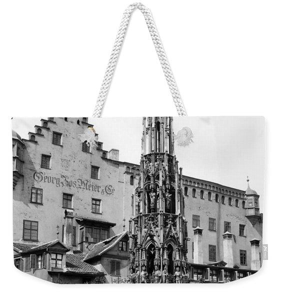 Nuremberg Beautiful Fountain Weekender Tote Bag