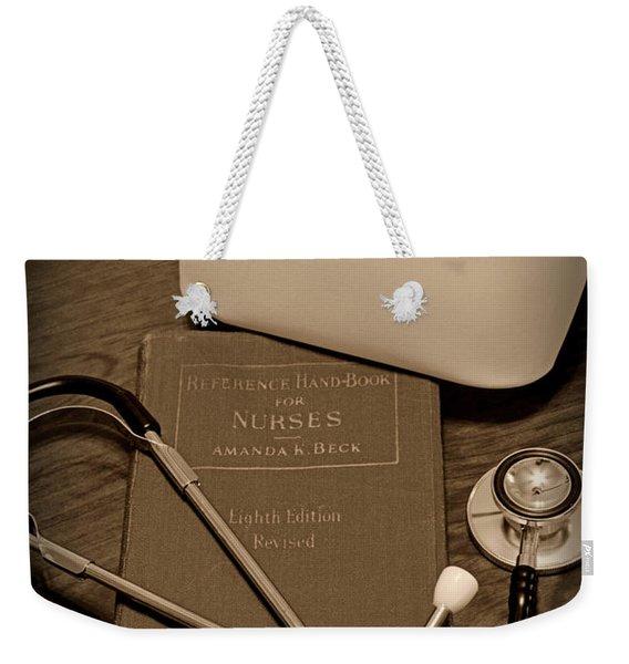 Nurse - The Care Giver Weekender Tote Bag