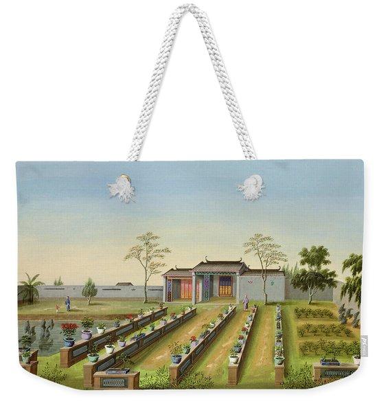 Nursery Garden, C.1820-40 Weekender Tote Bag
