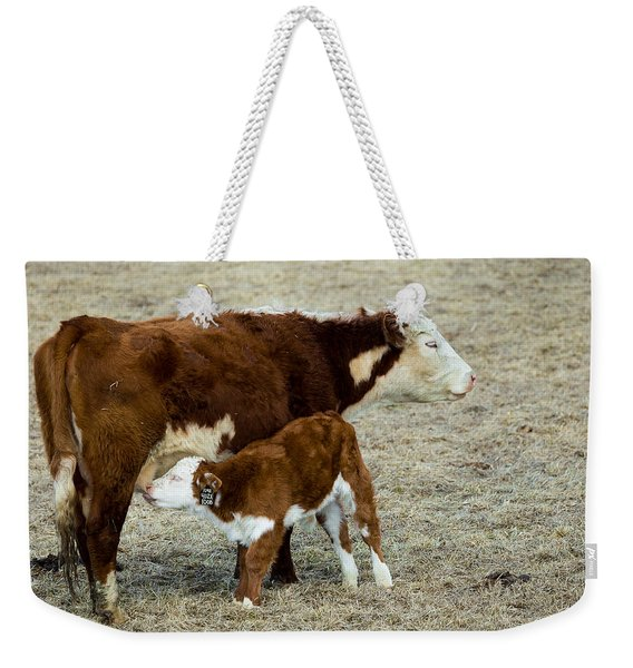 Nursing Calf Weekender Tote Bag