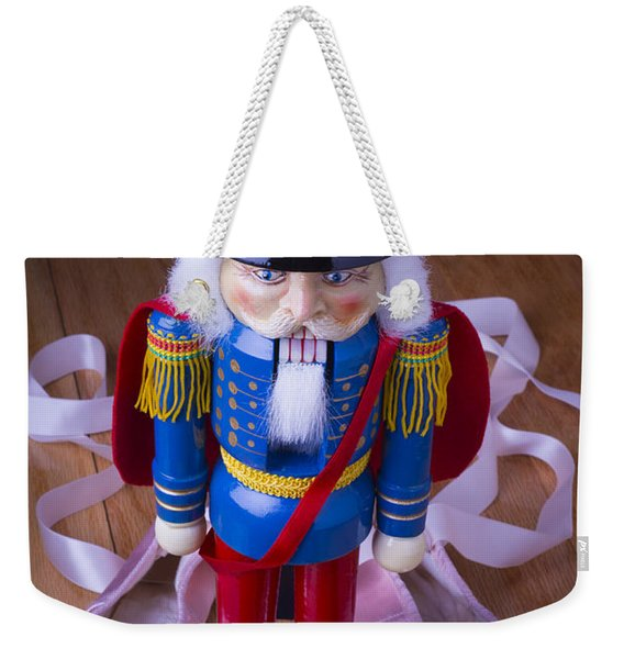 Nutcracker And Ballet Shoes Weekender Tote Bag