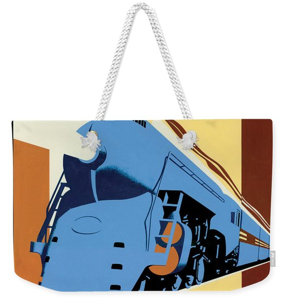 Ny To Chicago Weekender Tote Bag