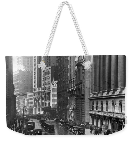 Nyc Financial District Weekender Tote Bag