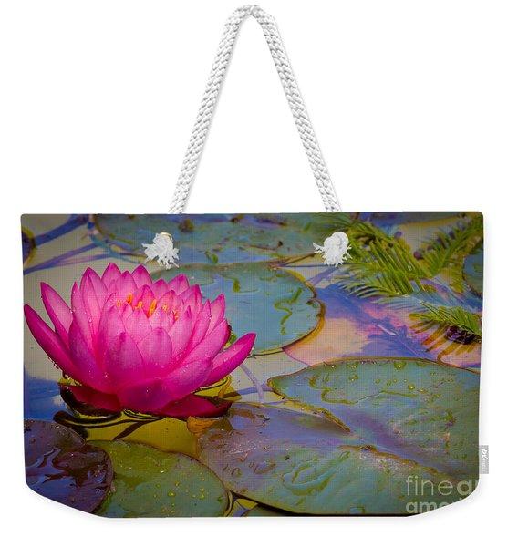 Nymphaeaceae Weekender Tote Bag
